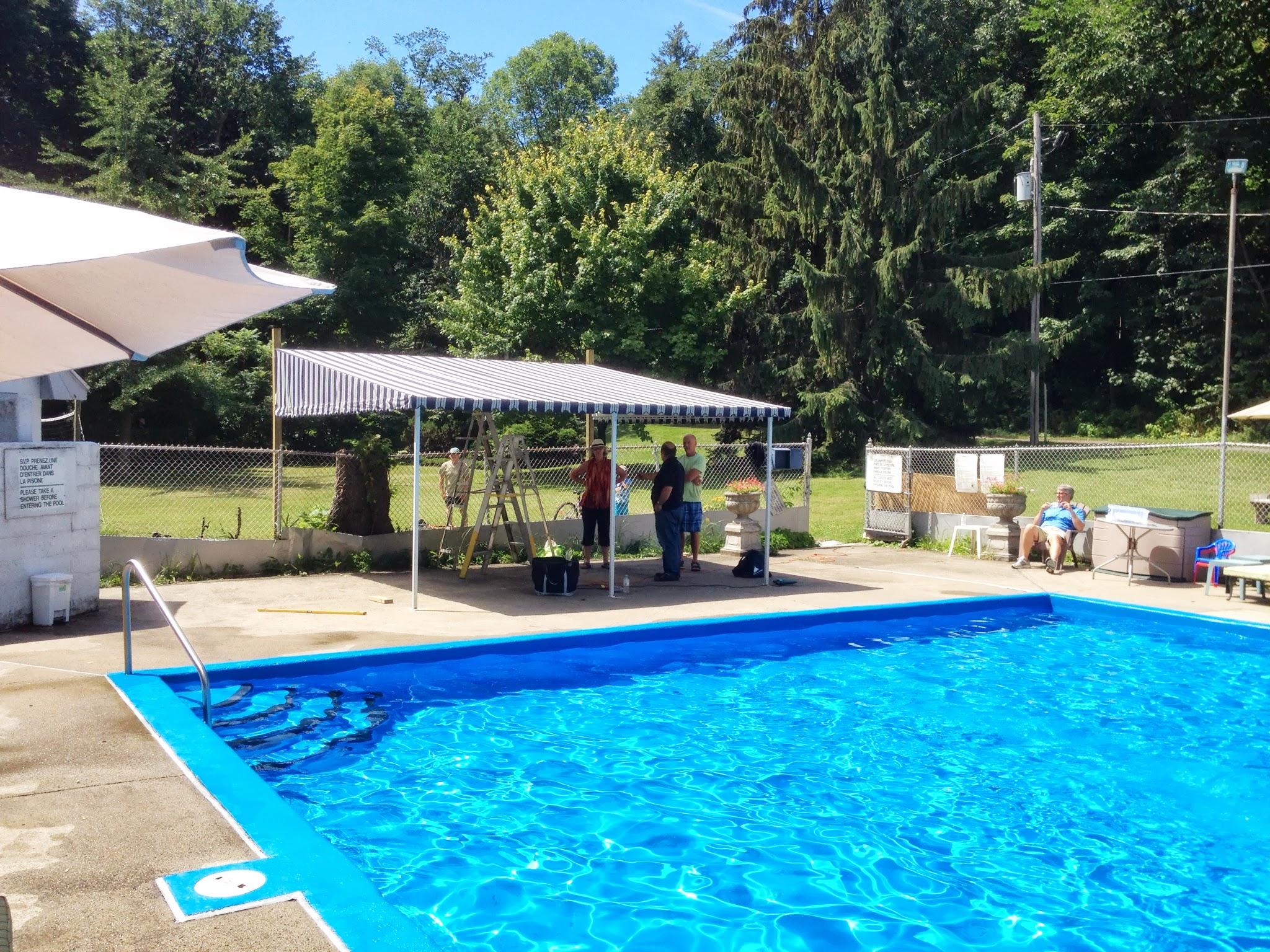 Pool area upgrades!