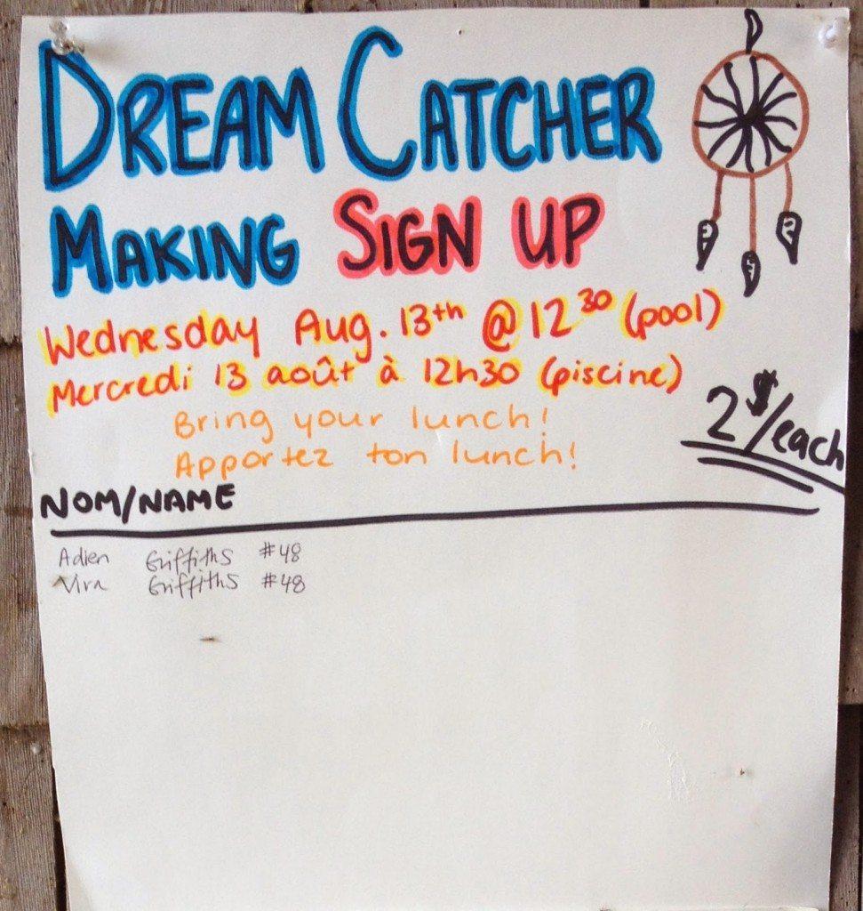 Dream Catcher Making