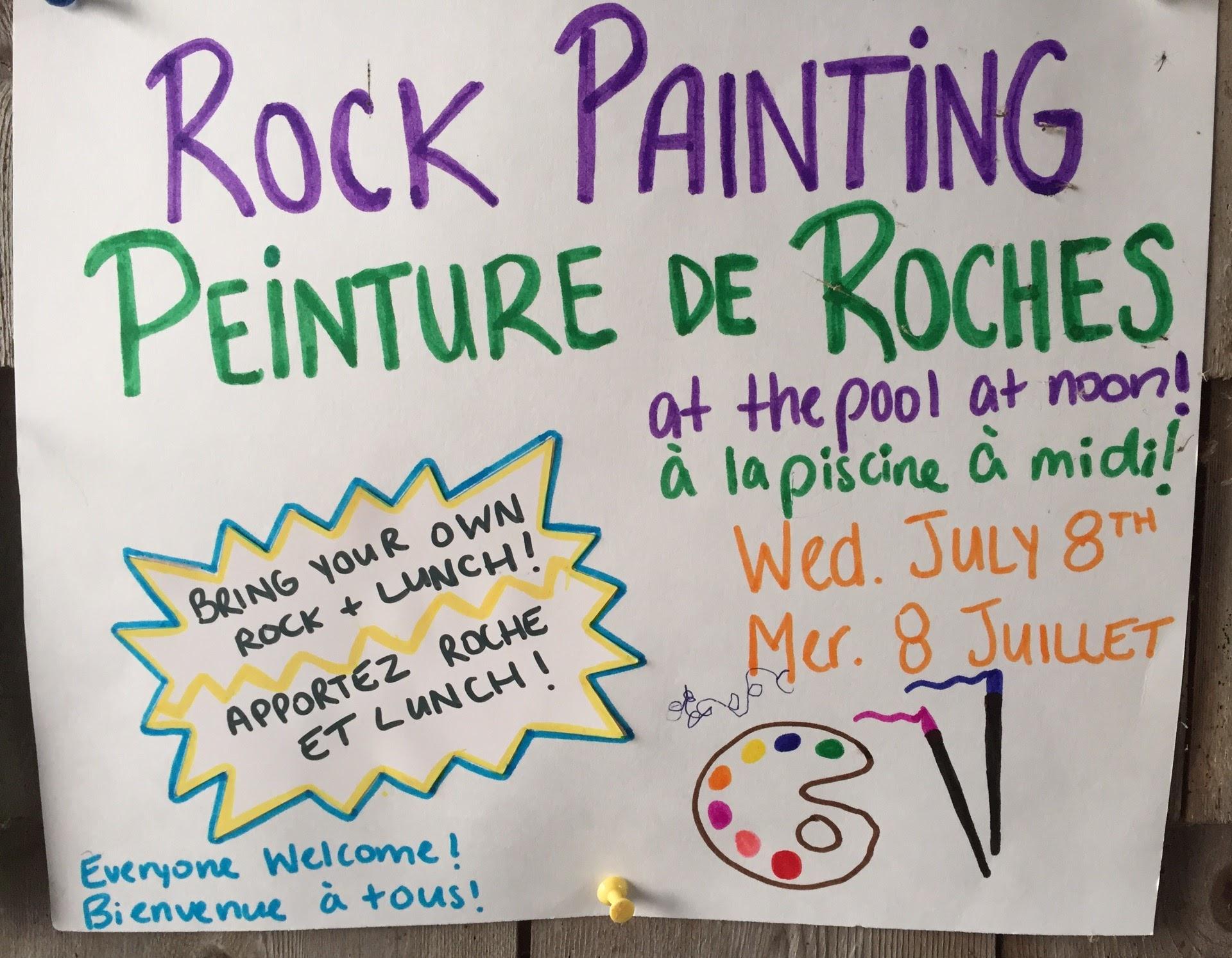 Peinture de Roches | Rock Painting